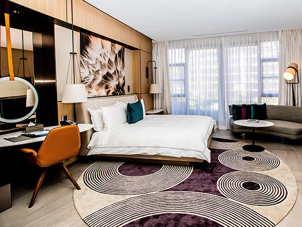 Guest room, Houghton Hotel, Johannesburg, South Africa