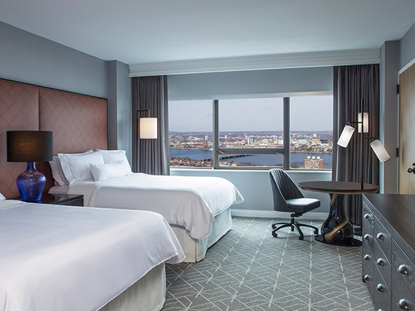 Room, Westin Copley Place, Boston, Massachusetts, USA