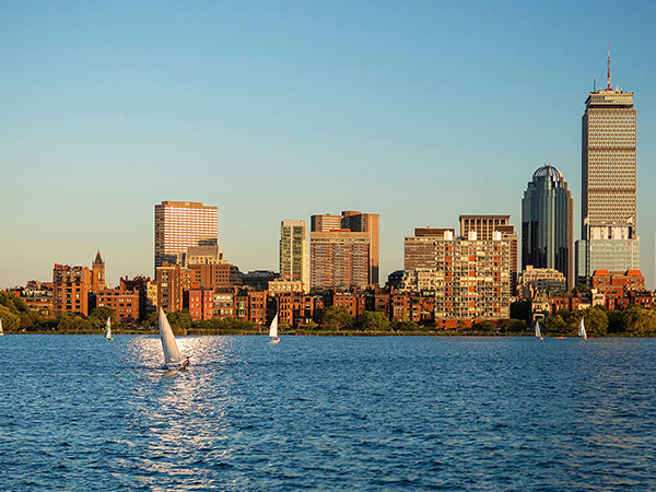 View, Westin Copley Place, Boston, Massachusetts, USA
