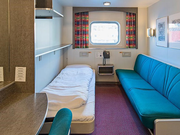 Category USPO Polar Outside cabin on the Hurtigruten ms Nordkapp
