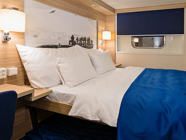 Category USPD Arctic Superior outside cabin on the Hurtigruten ms Richard With