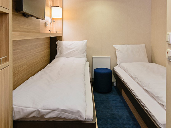 Category USPI Polar Inside cabin on the Hurtigruten ms Richard With